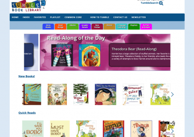 TumbleBooks Book Library