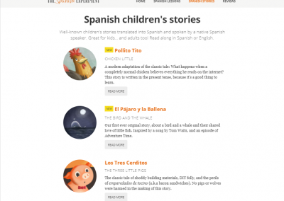 Spanish Children's Stories